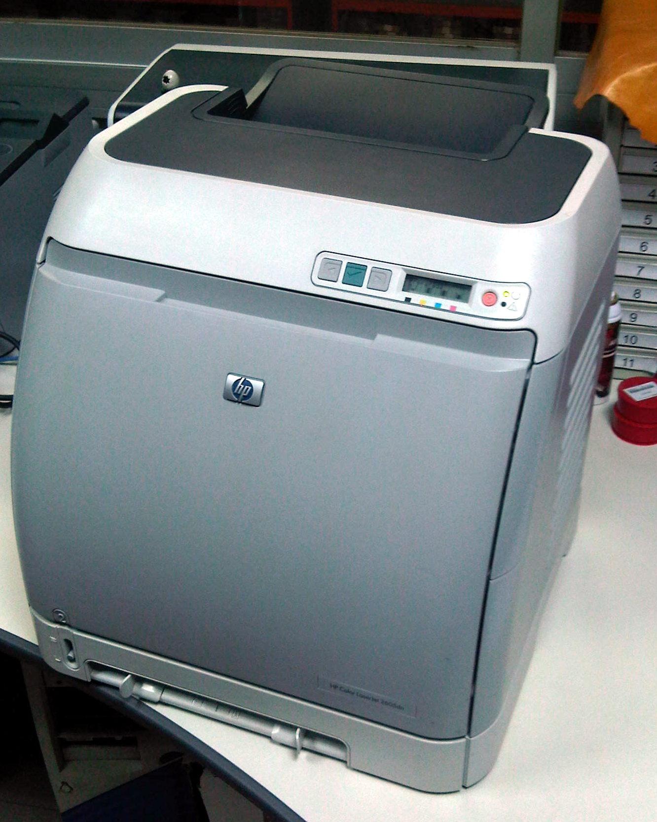 Hp Color Laserjet Cp