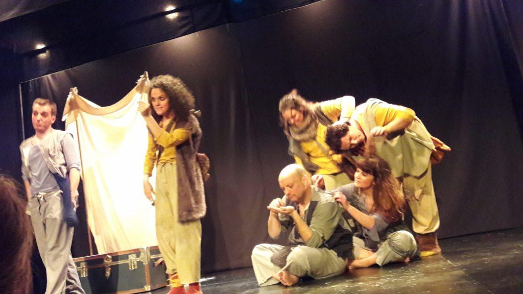 En el teatro Prosperidad de Madrid